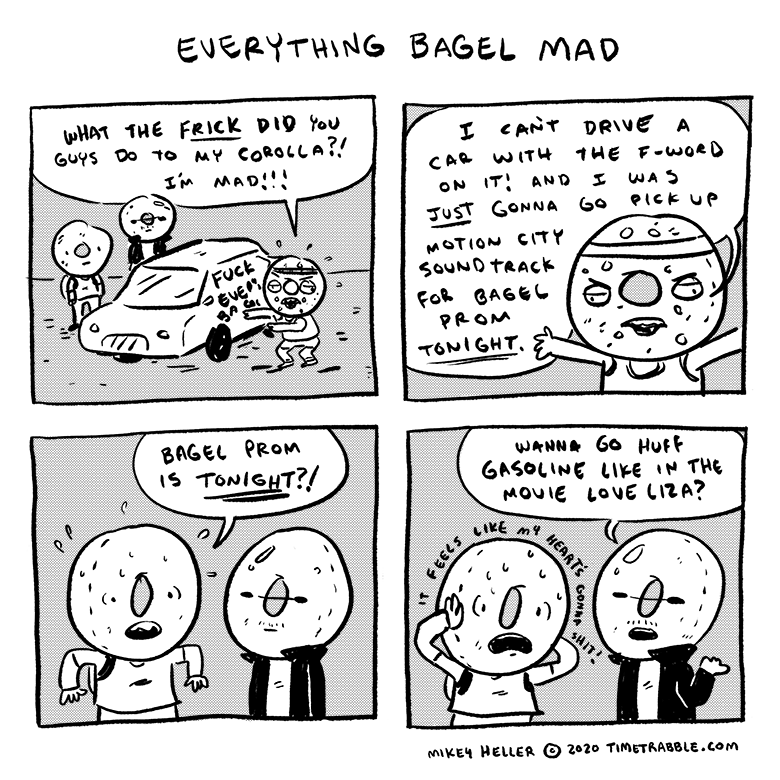 Everything Bagel Mad