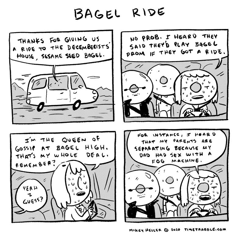 Bagel Ride