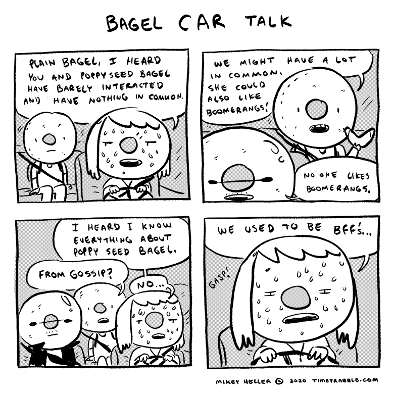 Bagel Car Talk