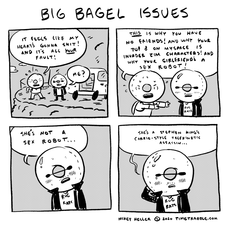 Big Bagel Issues