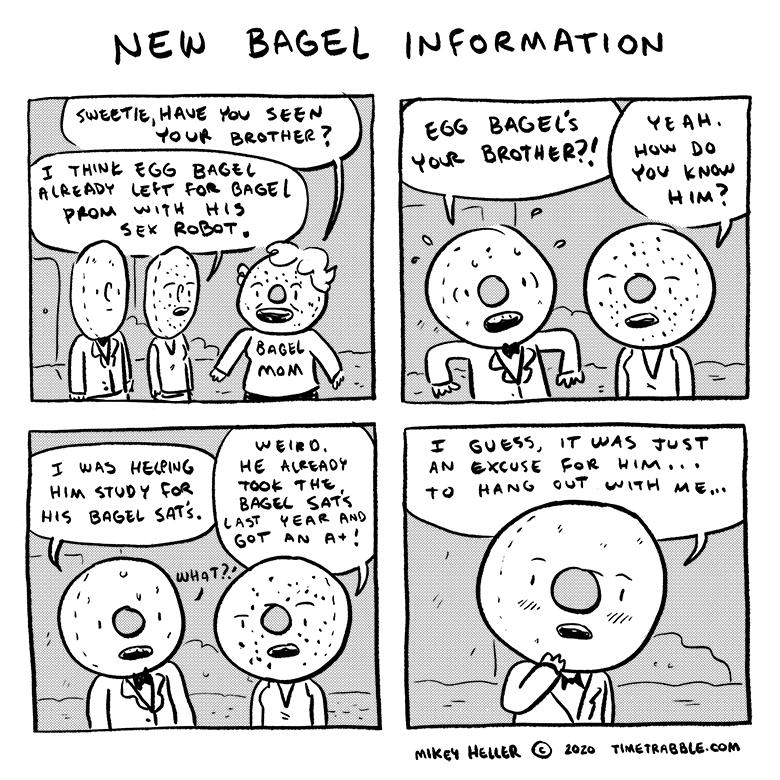 New Bagel Information
