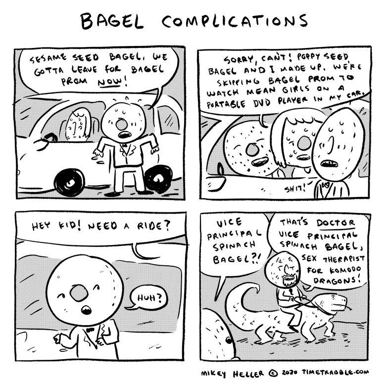 Bagel Complications