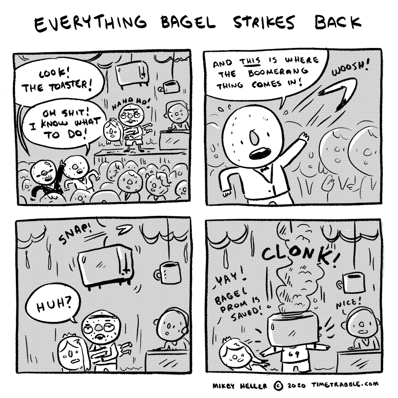 Everything Bagel Strikes Back