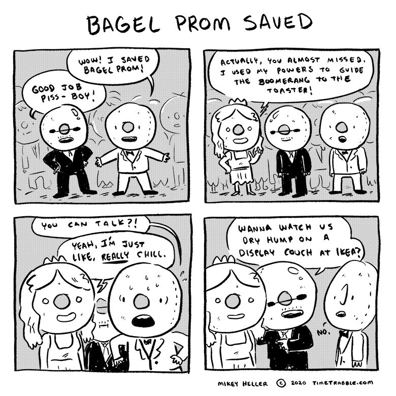 Bagel Prom Saved