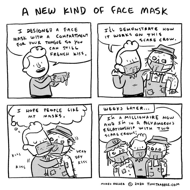 A New Kind Of Fask Mask