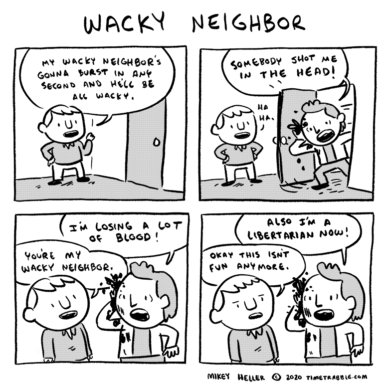 Wacky Neighbor