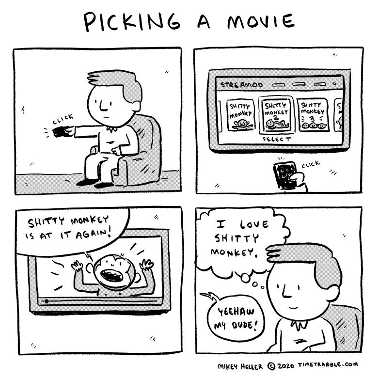Picking A Movie