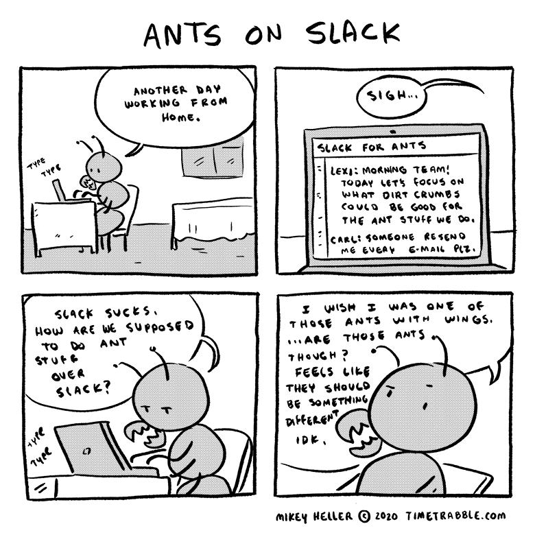 Ants On Slack