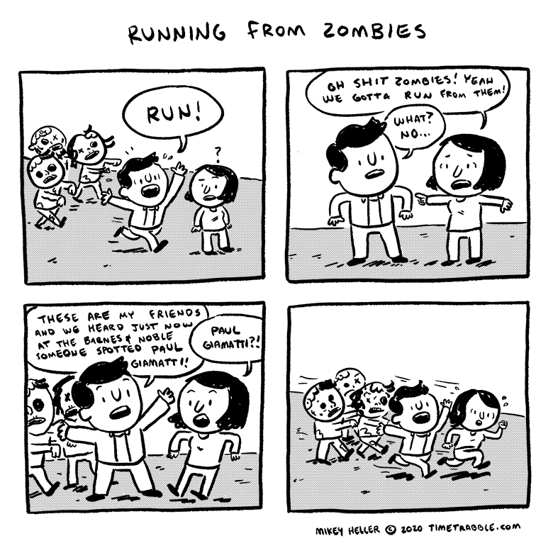 Running From Zombies