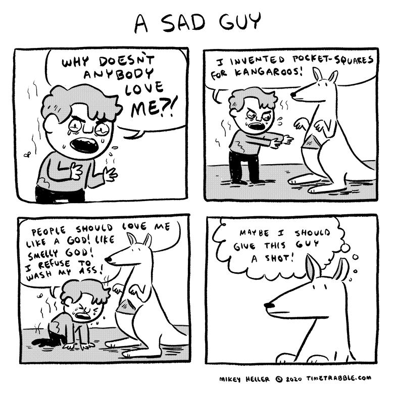 A Sad Guy