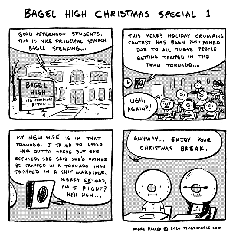 Bagel High Christmas Special 1