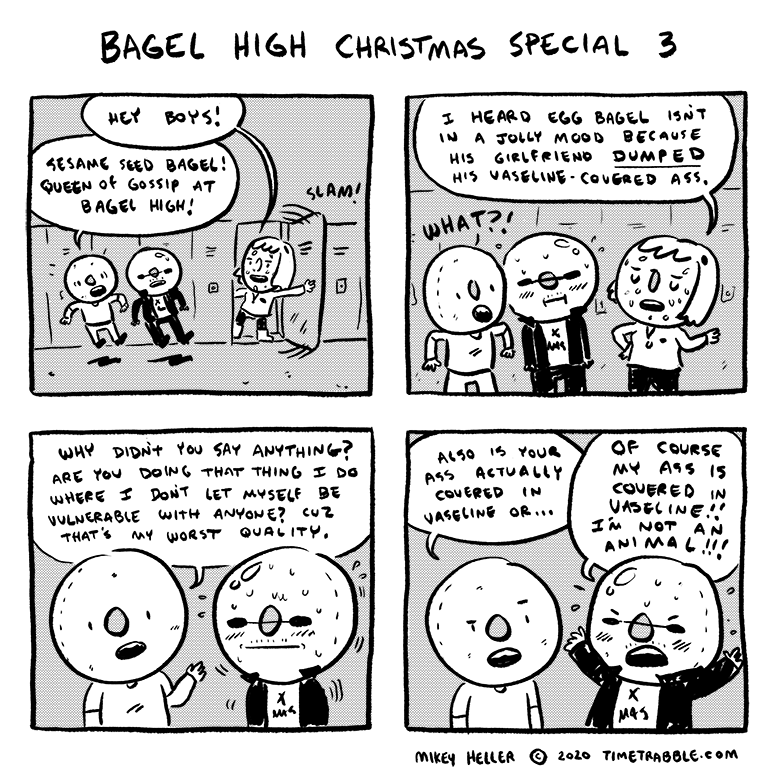 Bagel High Christmas Special 3