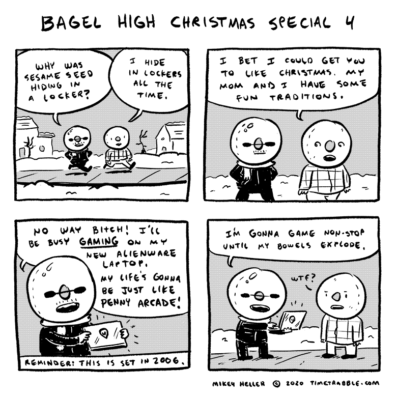 Bagel High Christmas Special 4