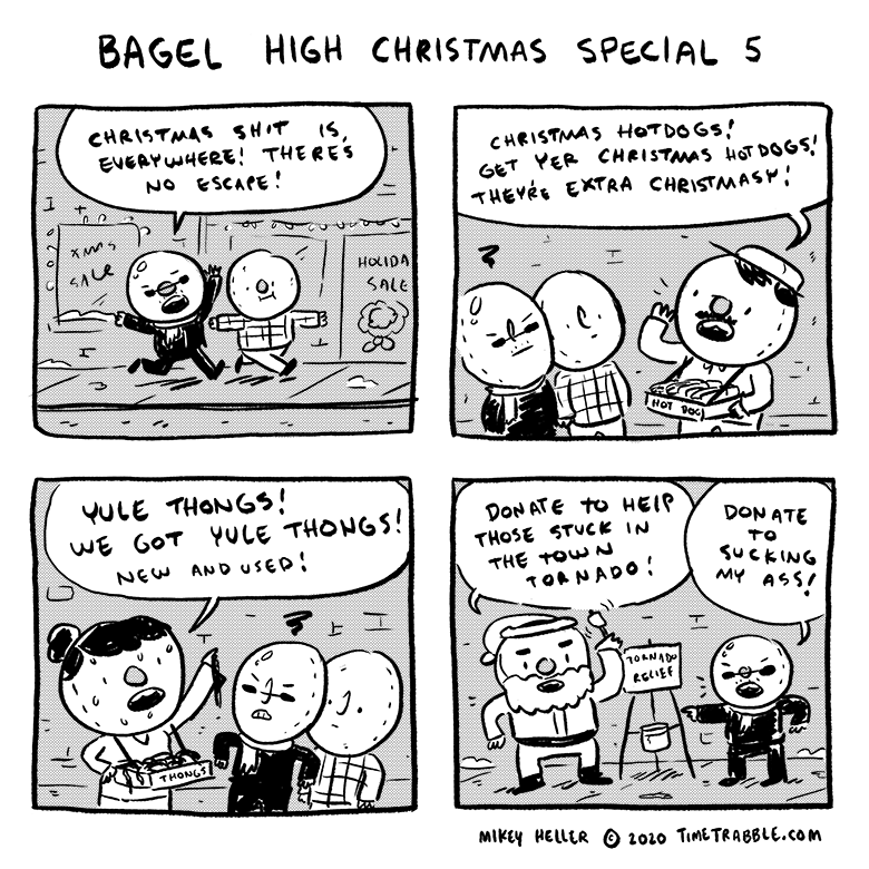 Bagel High Christmas Special 5