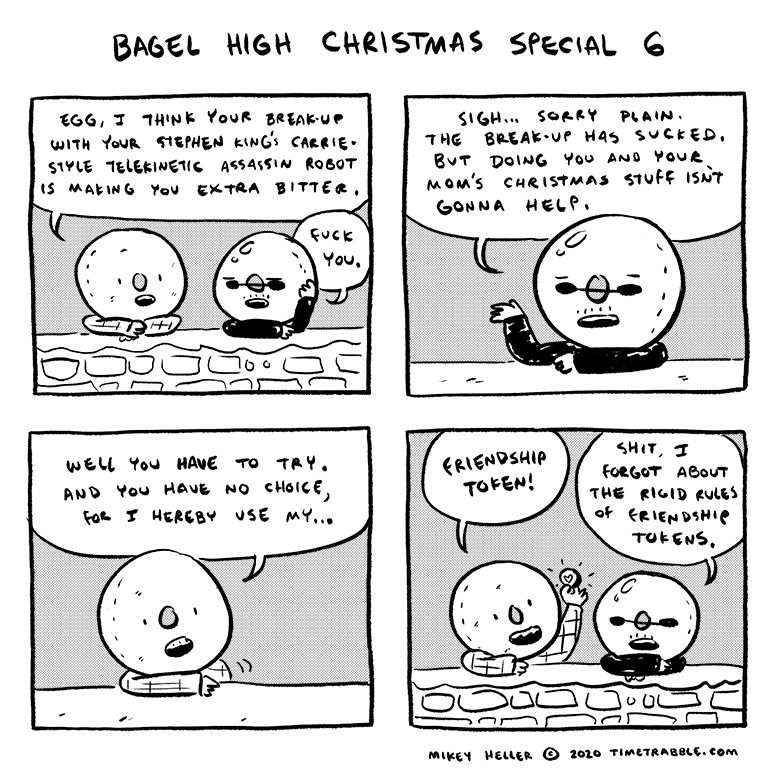 Bagel High Christmas Special 6
