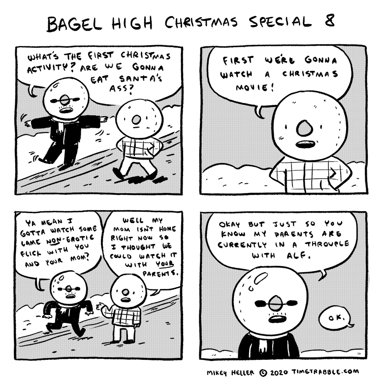 Bagel High Christmas Special 8