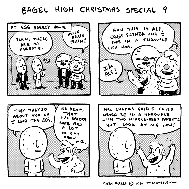 Bagel High Christmas Special 09