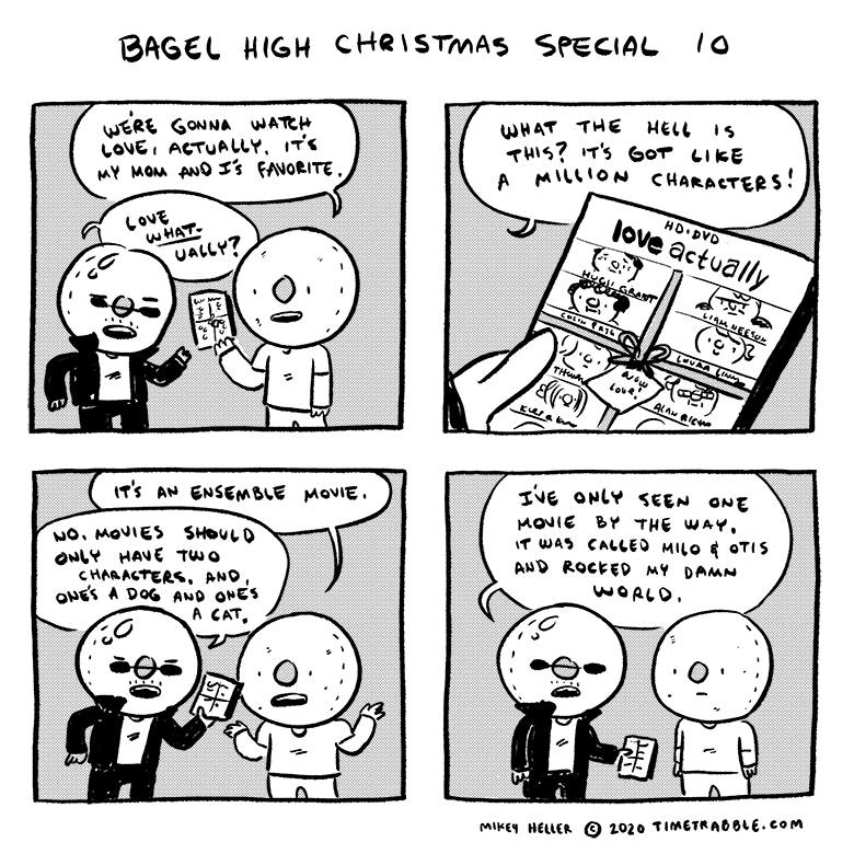 Bagel High Christmas Special 10