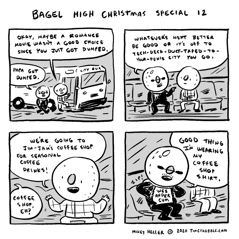 Bagel High Christmas Special 12
