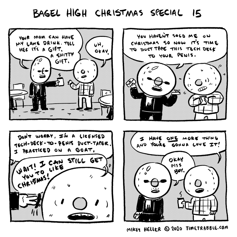 Bagel High Christmas Special 15