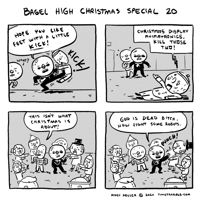 Bagel High Christmas Special 20