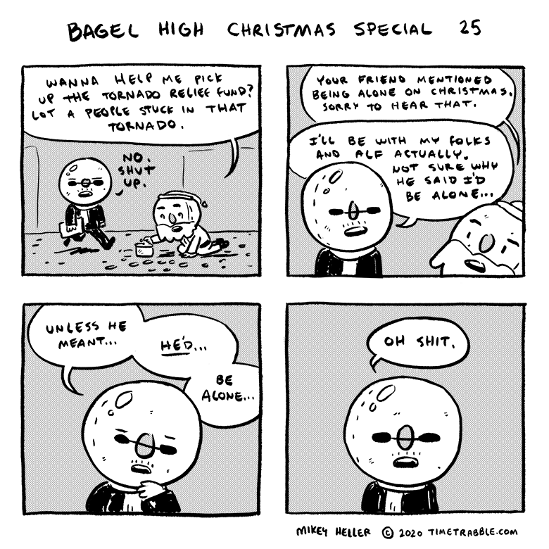 Bagel High Christmas Special 25