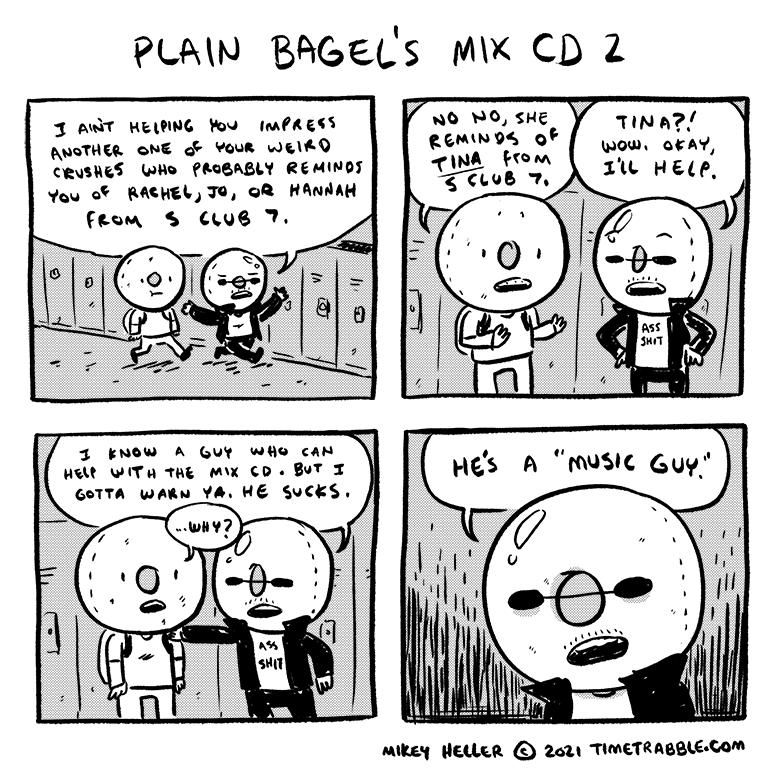 Plain Bagels Mix CD 2
