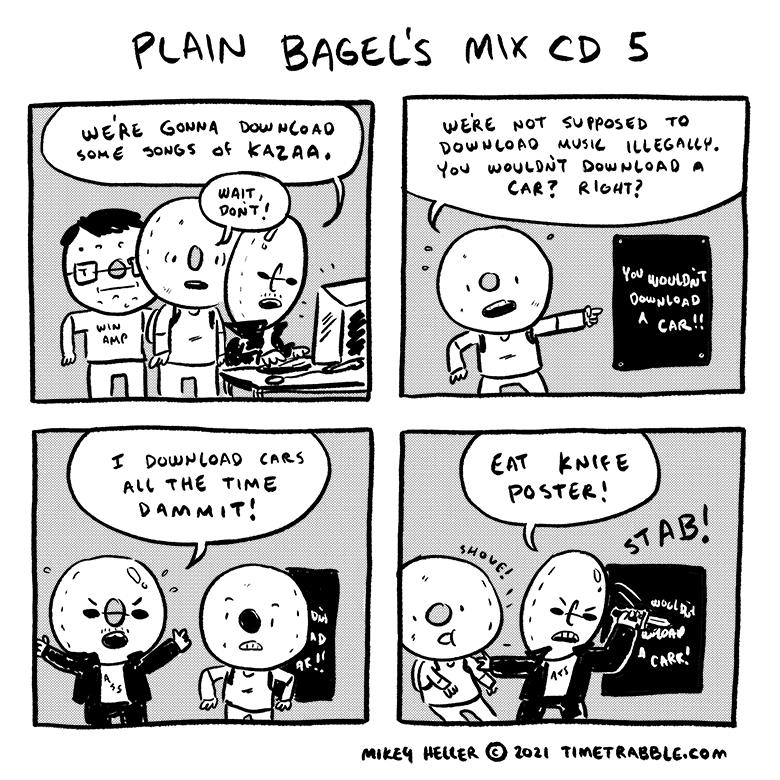 Plain Bagels Mix CD 5
