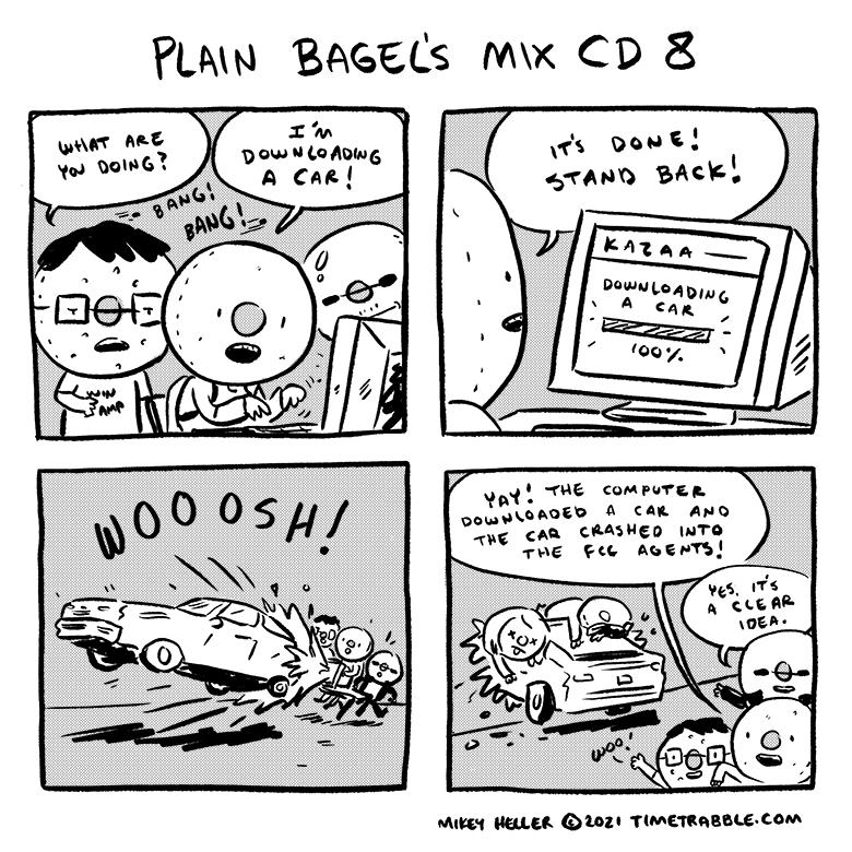 Plain Bagels Mix CD 8