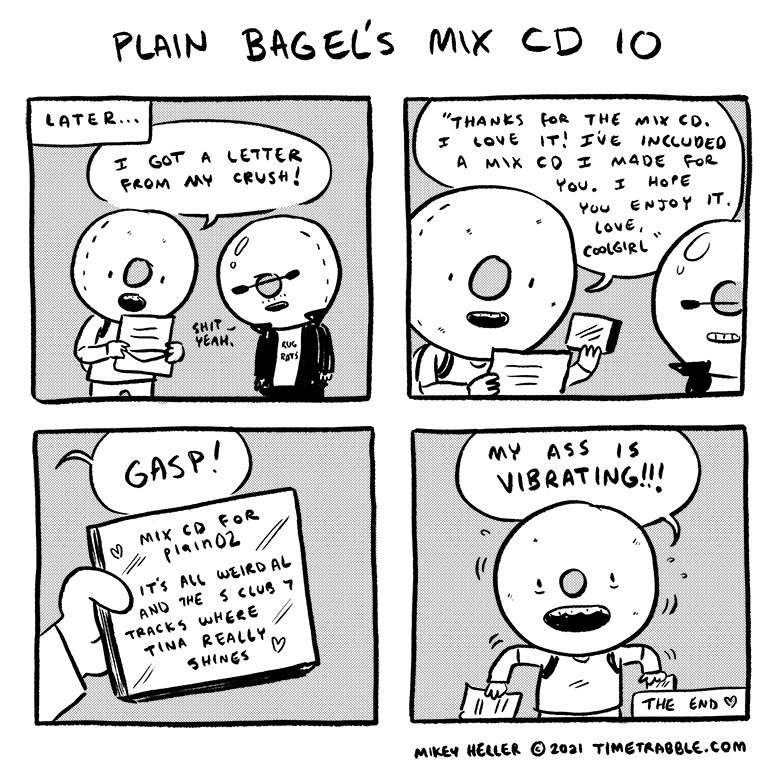 Plain Bagels Mix CD 10